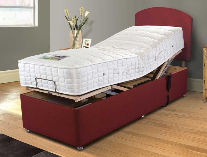 Best Value Adjustable Beds : Sleepeezee cooler comfort adjustable bed buy at
