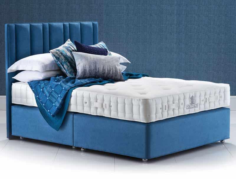 Hypnos luxury no turn deluxe divan bed buy online at for Divan bed no mattress