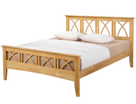 Ecofurn Meadow Hardwood Bed Frame