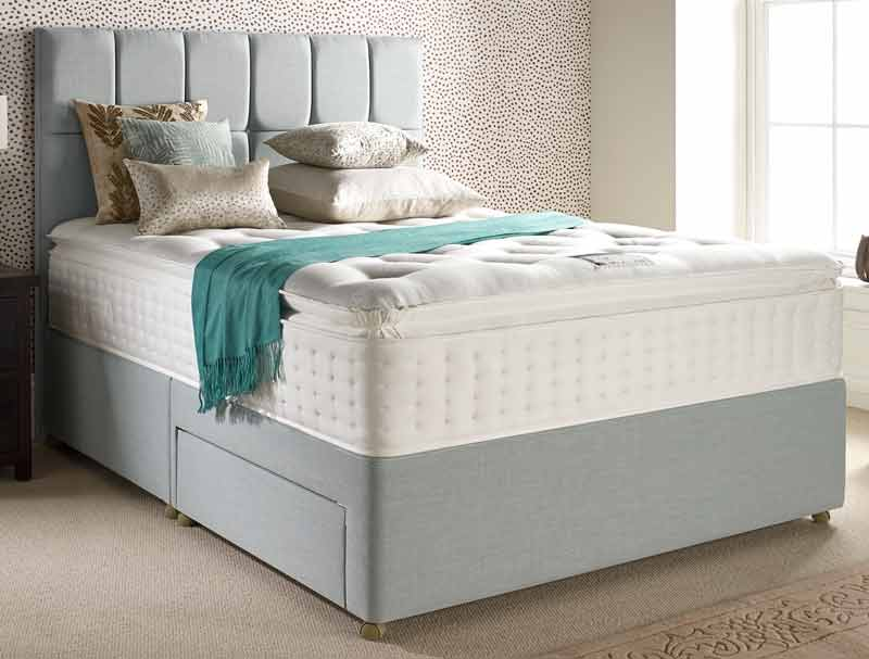 Relyon Pillow Top Classic 1800 Pocket Divan Bed Buy Online At Bestpricebeds