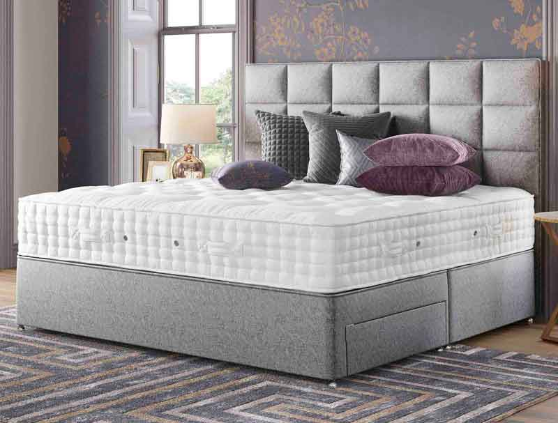 Relyon Grandee 2400 Pocket Sprung Divan Bed Buy Online