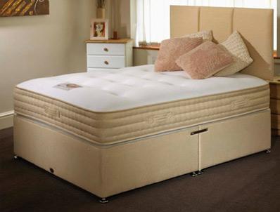 Highgrove pashmina 1000 pocket divan bed buy online at for Best value divan beds