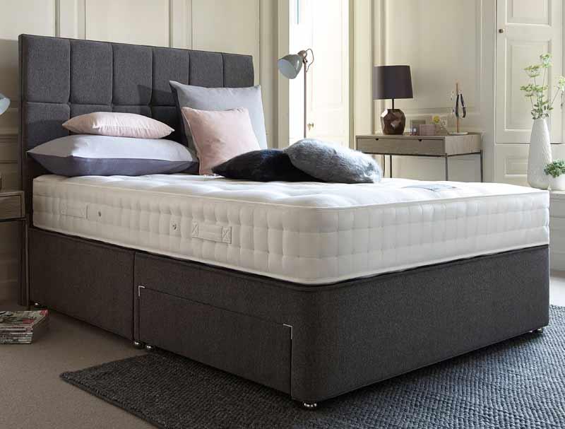 Relyon orthorest 1000 pocket divan bed buy online at for Best value divan beds