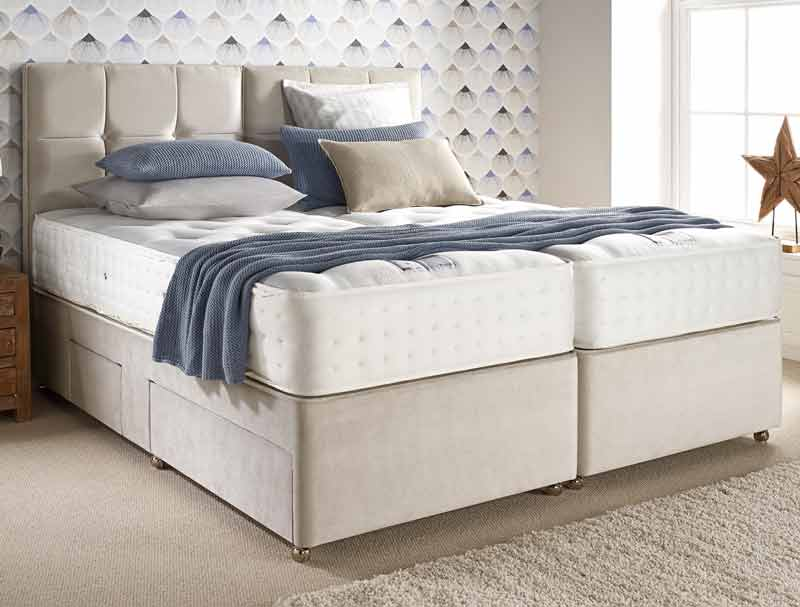 Relyon Exquisite 1200 Pocket Spring Divan Bed Buy Online At Bestpricebeds
