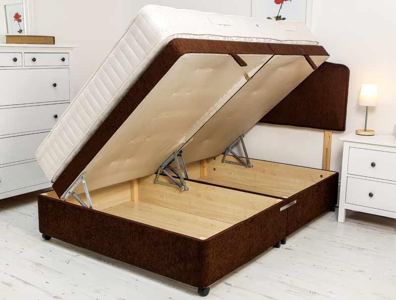 best price beds superior side open ottoman base only buy. Black Bedroom Furniture Sets. Home Design Ideas