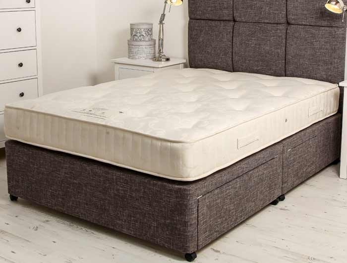 Bestpricebeds Fabric Divan Base Only Buy Online At Bestpricebeds