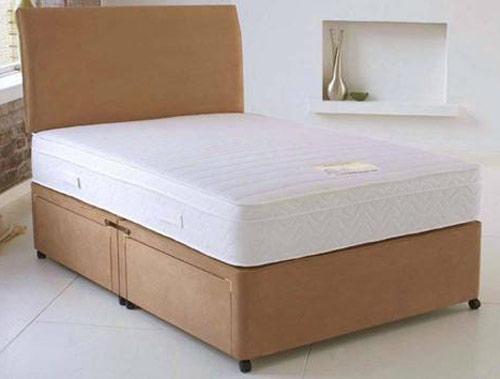 Healthopaedic supreme vasco 1000 pocket divan bed at for Best value divan beds