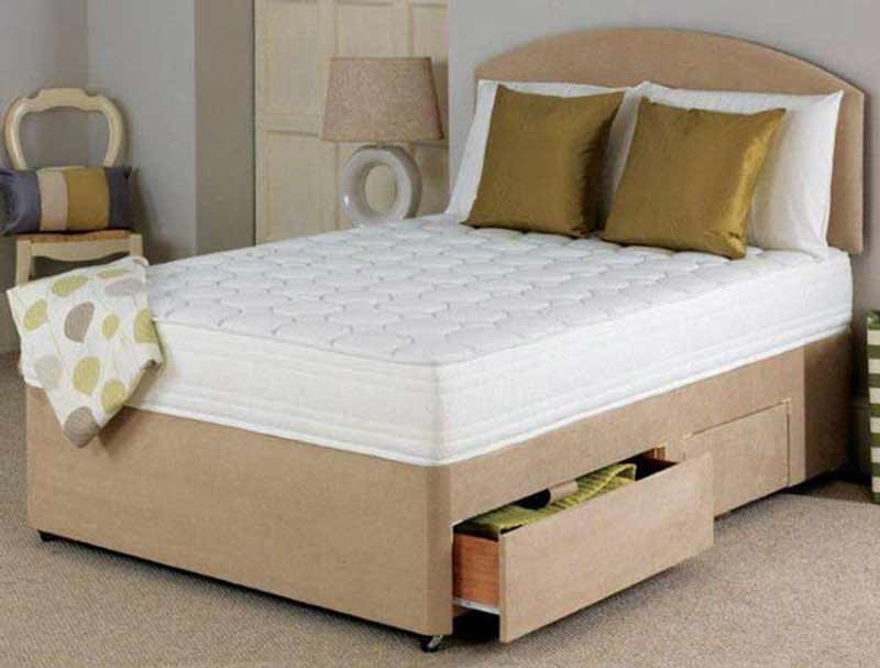 Flexcell 1200 Pocket Memory Divan Bed At