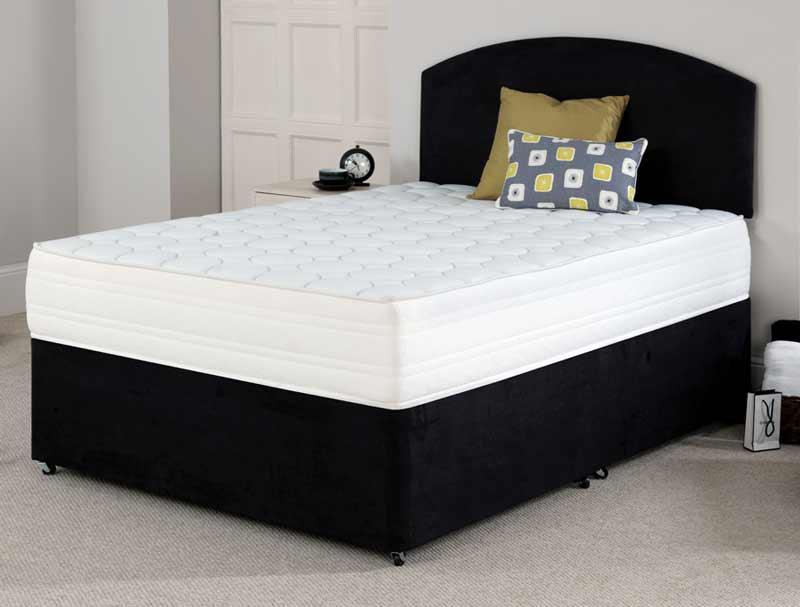 Flexcell 2000 pocket memory divan bed at for Best value divan beds