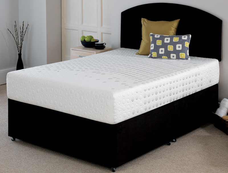 Breasley synergy 7000 i plus memory foam divan set at for Memory foam divan