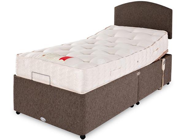 Best Value Adjustable Beds : Healthbeds wool supreme pocket adjustable bed buy