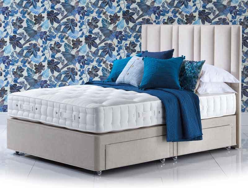 Hypnos orthos elite wool divan bed buy online at for Hypnos divan beds