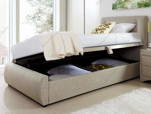 the product kaydian buttons side opening fabric ottoman is. Black Bedroom Furniture Sets. Home Design Ideas