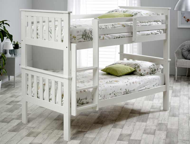 Bedmaster carra bunk bed frame buy online at bestpricebeds for Bed master