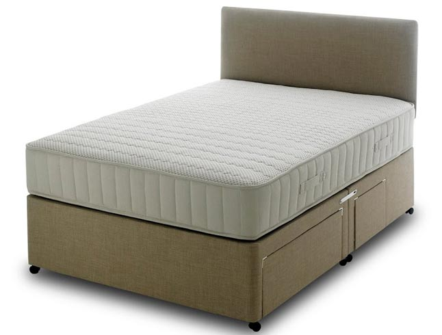 Bedmaster memory comfort divan set buy online at for Bed master
