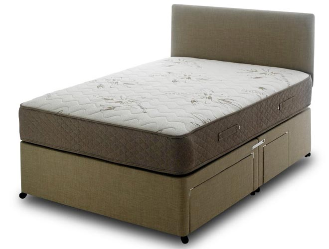 Bedmaster memory stressfree 1000 pocket divan bed buy for Bed master