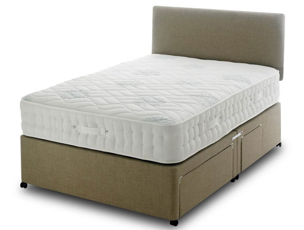 Bedmaster brooklyn 1400 pocket memory divan bed buy for Bed master