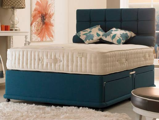 Bedmaster ambassador 3000 pocket spring divan bed buy for Bed master