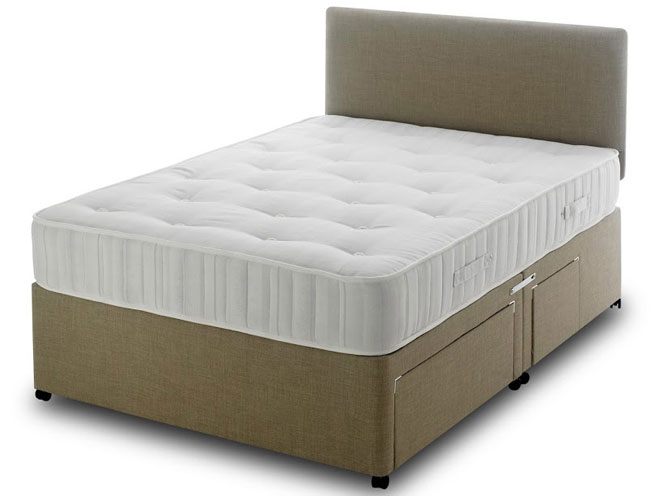 Bedmaster super ortho firm coil spring divan bed buy for Bed master