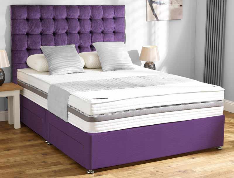 Mammoth Supersoft 270 Divan Bed Buy Online At Bestpricebeds