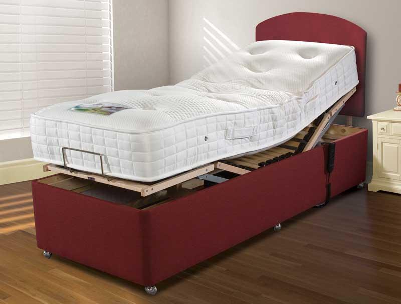 Best Value Adjustable Beds : Sleepeezee latex pocket adjustable bed buy
