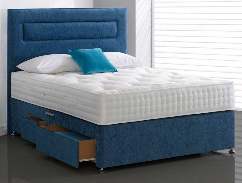 Highgrove carlton 1500 pocket spring divan bed buy for Best value divan beds