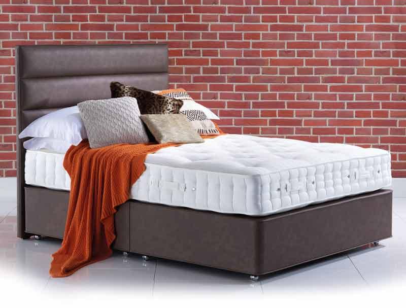 Hypnos orthos elite alpaca 9 turn divan bed buy online for Best value divan beds
