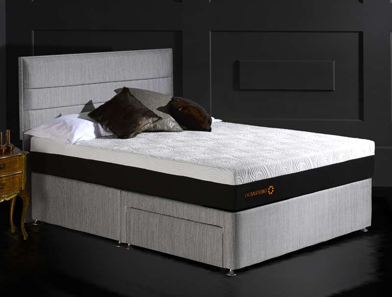 Dormeo octaspring 5500 divan bed buy online at bestpricebeds for Best value divan beds