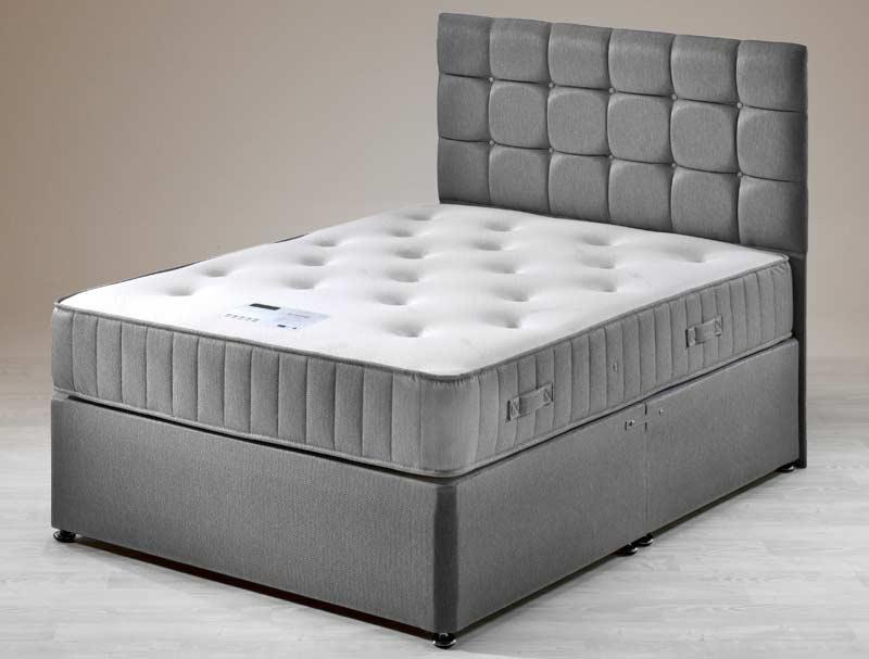 Siesta serenity 1000 pocket divan bed buy online at for Best value divan beds