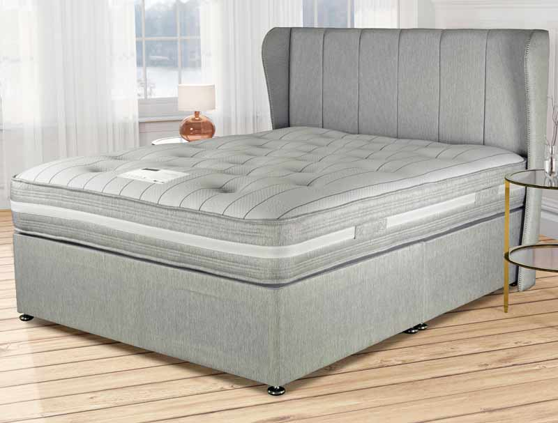 Siesta beds countess 2000 pocket divan bed buy online at for Best value divan beds