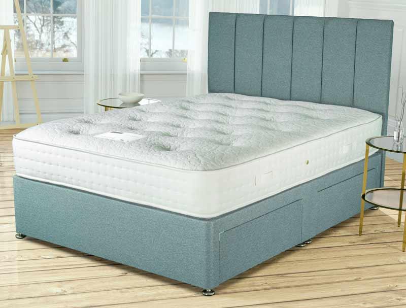 Siesta Beds Dorchester 2000 Pocket Divan Bed Buy Online At Bestpricebeds
