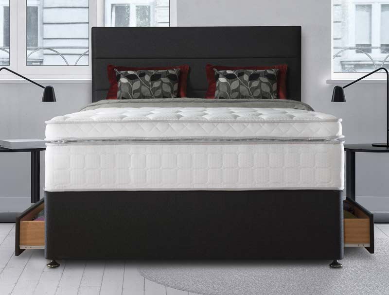 Sealy Palatine 2500 Pocket Latex Divan Bed Buy Online At Bestpricebeds