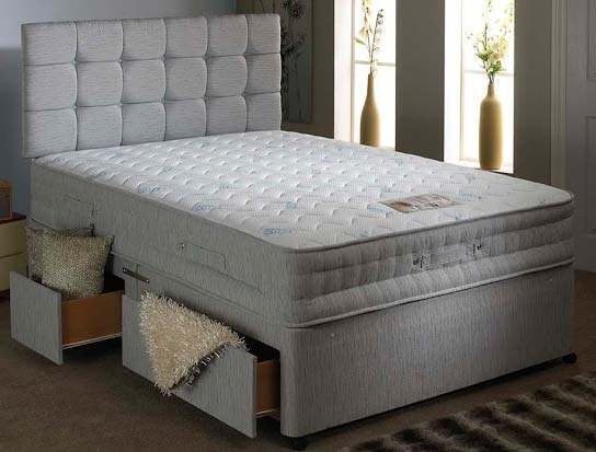 Bedmaster all seasons divan bed buy online at bestpricebeds for Bed master