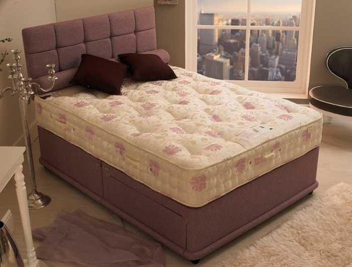 Bedmaster osborne 1500 natural pocket bed for Bed master