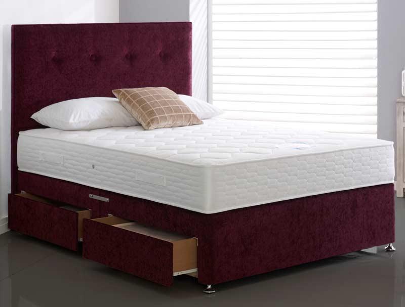 Highgrove Caesar Coil And Memory Foam Bed Buy Online At