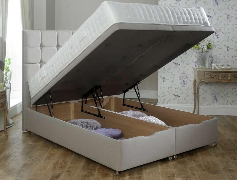 Relyon end lift ottoman divan base buy online at for Ottoman divan bed