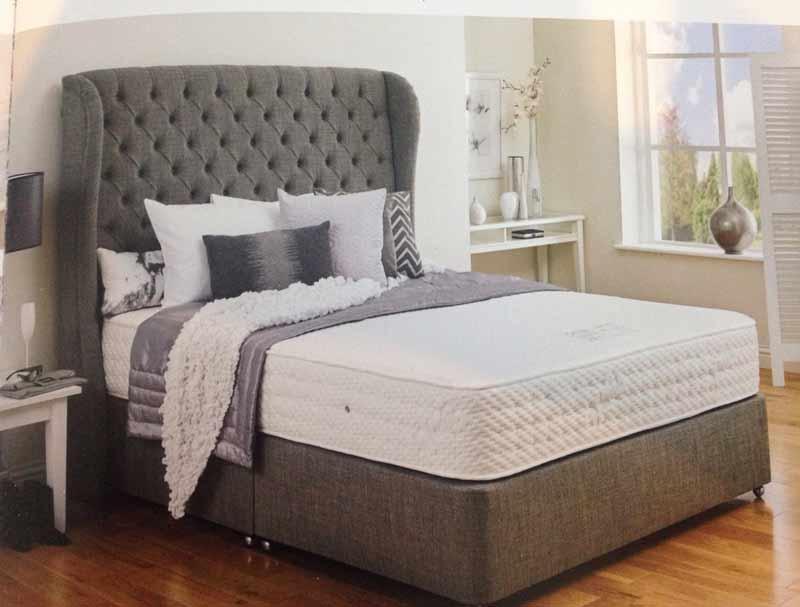 Hestia latex pocket 2150 divan bed buy online at for Best value divan beds