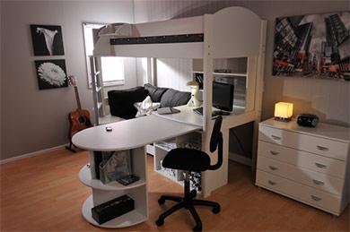 Stompa Casa 4 High Sleeper Buy Online At Bestpricebeds