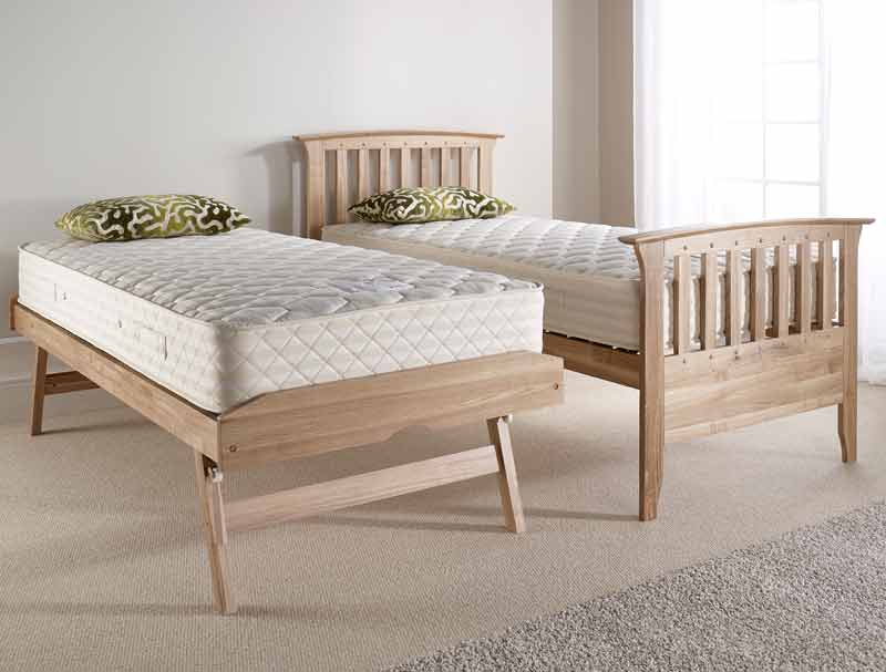 Relyon New England Waxed Ash Guest Bed Buy Online At