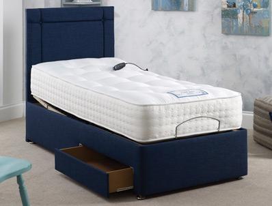 Adjust-A-Bed Superior Pure Natural 2000 Pocket Adjustable Bed