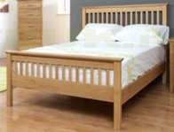 Annaghmore Clare Oak Bed Frame