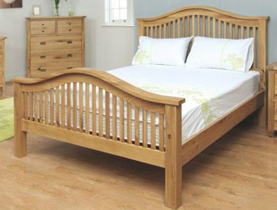 Annaghmore Tullamore Solid Oak Bedframe
