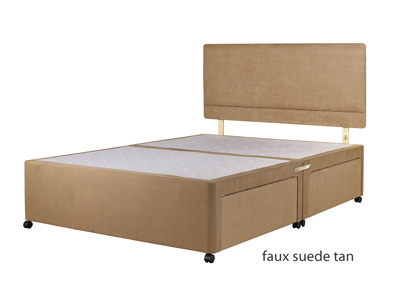 Bedmaster Hard Top Divan Base & Optional Headboard