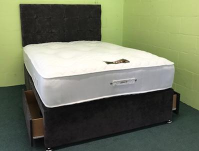 Bestpricebeds 1000 Pocket 2 Drawer Bed