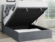 Bestpricebeds Calypso Fabric Storage Bed Frame