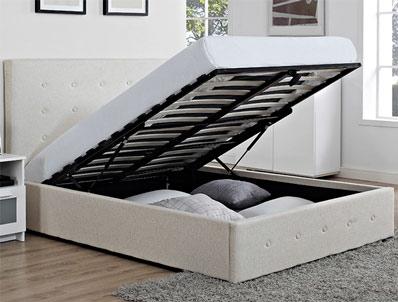 Bestpricebeds Chanel Lift up Storage Bed Frame