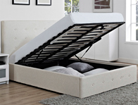 Bestpricebeds Chanel Lift up Storage Bed Frame