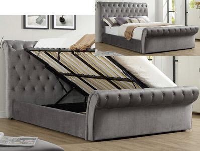 Bestpricebeds Everest Sleigh Storage Bed Frame
