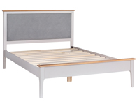 BestPriceBeds Gala White Wooden Bed Frame