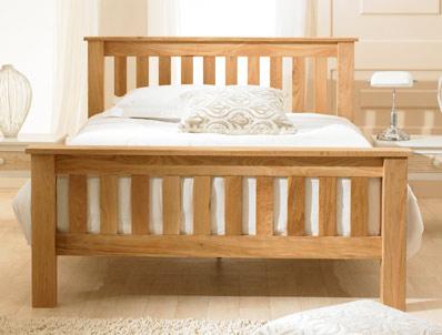 Bestpricebeds Hampstead Solid Oak Bed Frame